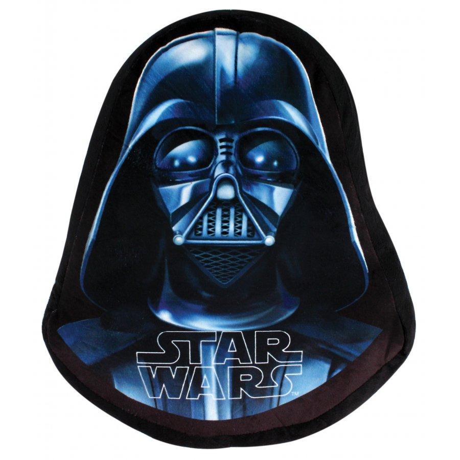 Setino · Tvarovaný 3D polštář STAR WARS - Hvězdné války - Darth Vader - 39 x 33 cm