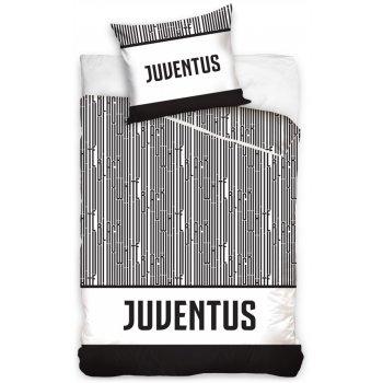 Bavlněné povlečení FC Juventus Torino - Black and White