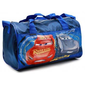 Sportovní taška Auta - Cars - tm. modrá