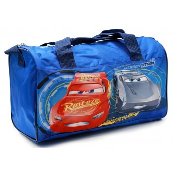 Sportovní taška Auta - Cars - sv. modrá
