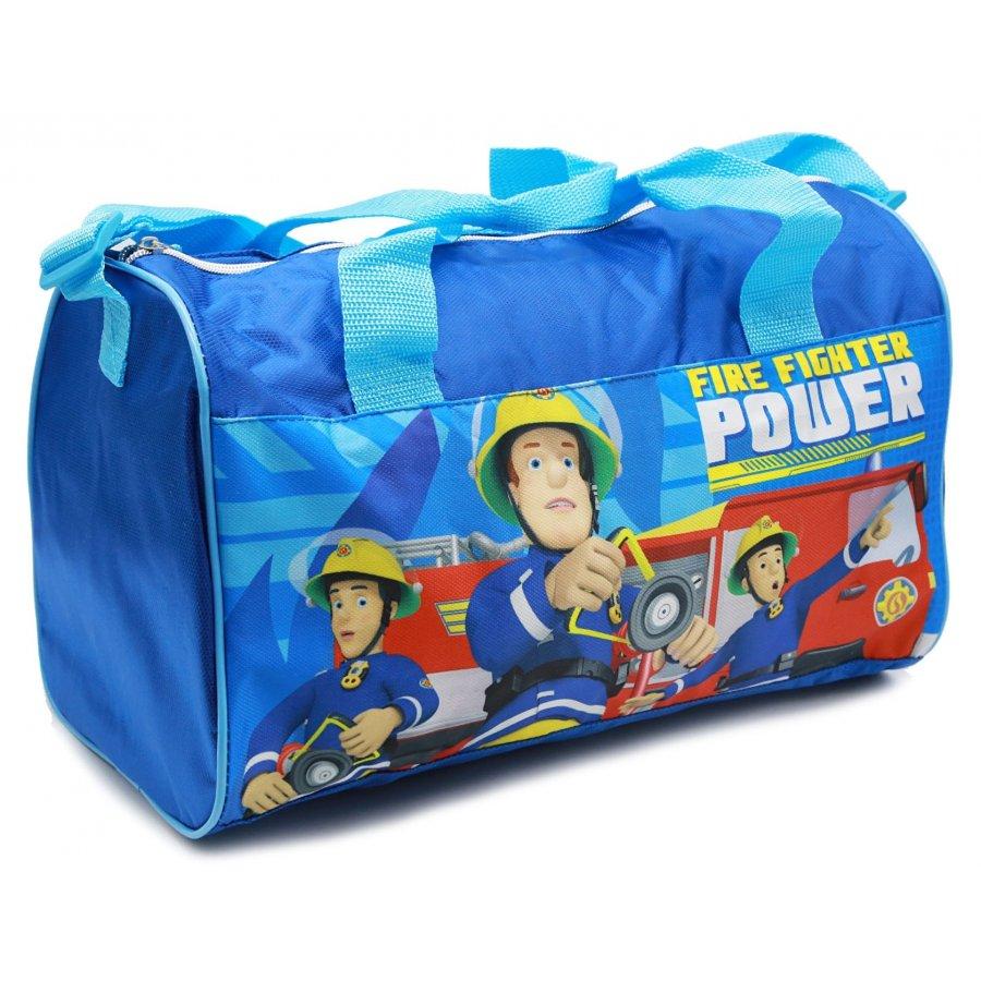 Sportovní taška Požárník Sam - sv. modrá