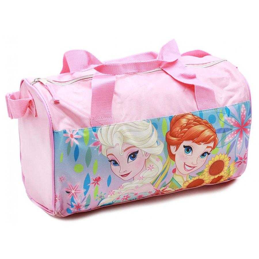 Sportovní taška Ledové království - růžová