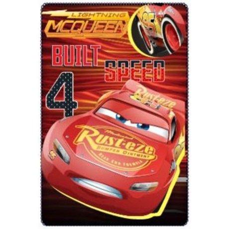 Fleecová deka Auta - Cars - Blesk McQueen