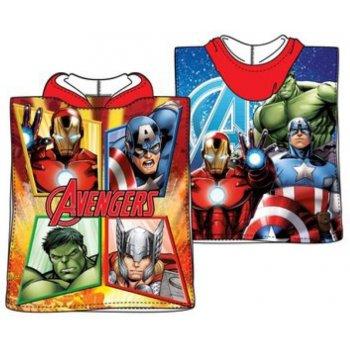 Pončo - osuška s kapucí Avengers - MARVEL