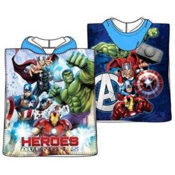 Pončo - osuška s kapucí Avengers - Heroes