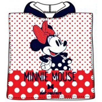 Pončo - osuška s kapucí Minnie Mouse