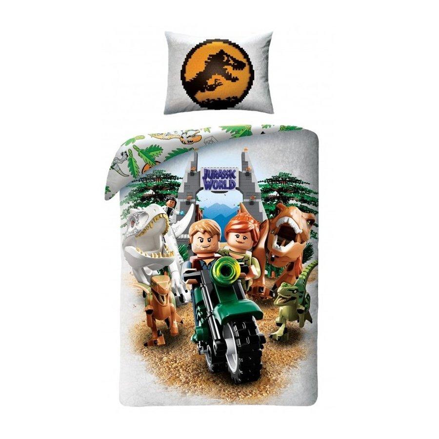 Dětské bavlněné povlečení LEGO Jurský park