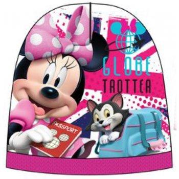 Dívčí teplá čepice Minnie Mouse - Disney - růžová