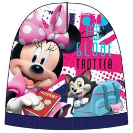 Dívčí teplá čepice Minnie Mouse - Disney - modrá