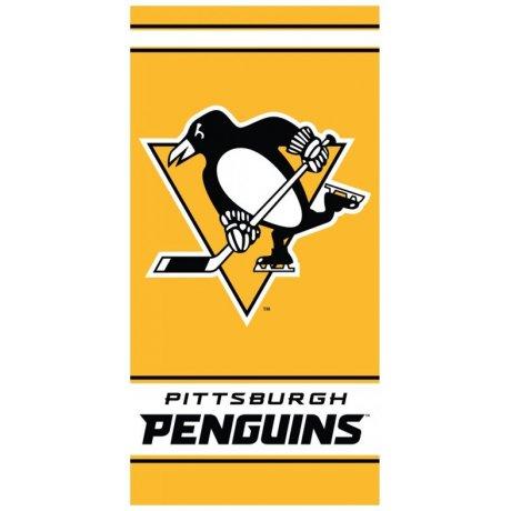 Hokejová bavlněná osuška NHL Pittsburgh Penguins