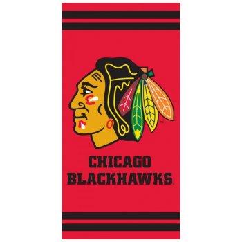 Hokejová bavlněná osuška NHL Chicago Blackhawks