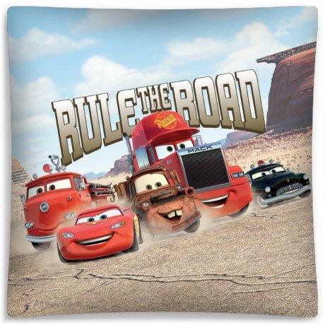 Povlak na polštář Auta - Blesk McQueen a kamarádi