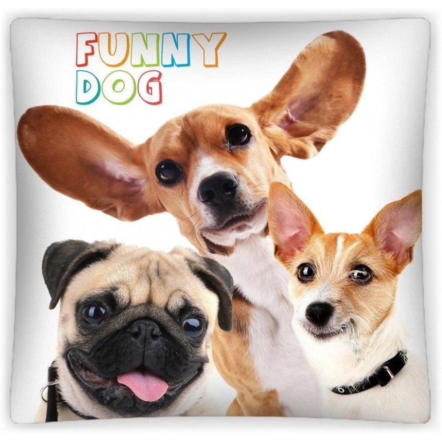 Povlak na polštář Funny dog