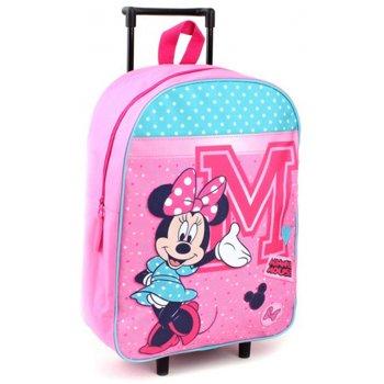 Dětský cestovní kufr na kolečkách Minnie Mouse - Disney