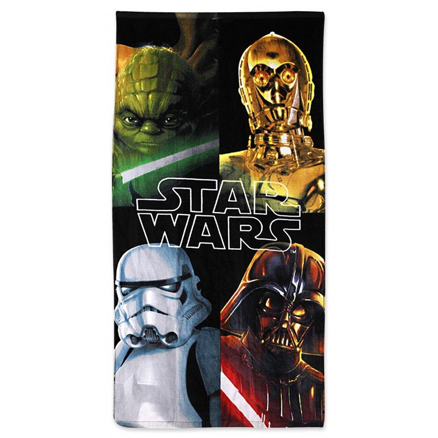 Setino · Plážová osuška Star Wars - Hvězdné války - 70 x 140 cm