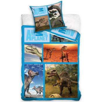 Bavlněné ložní povlečení Animal Planet - Dinosauři