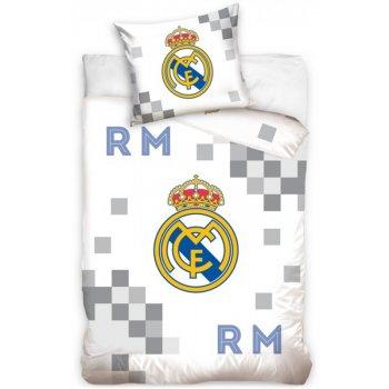 Fotbalové povlečení FC Real Madrid - Dados Grey
