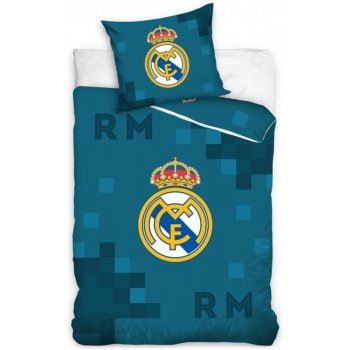 Fotbalové povlečení FC Real Madrid - Dados Blue