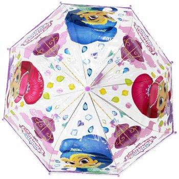 Dětský deštník Třpytka a Světla - Shimmer and Shine