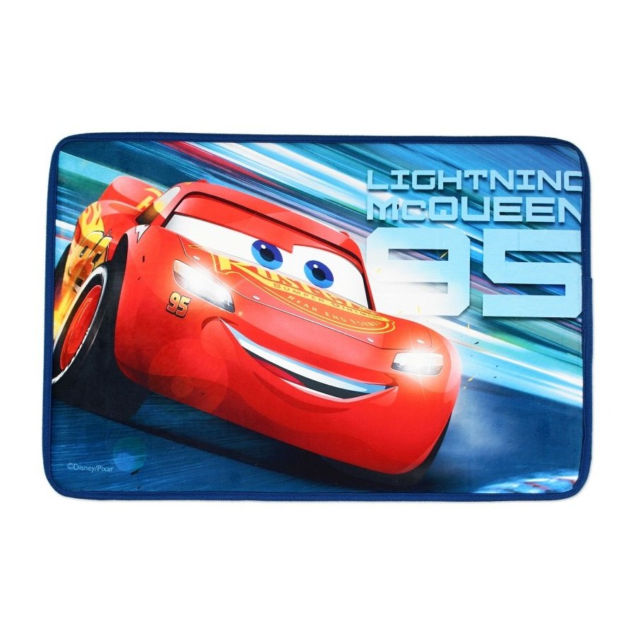 Setino · Kobereček Auta - Cars - blesk McQueen - 40 x 60 cm - vícebarevný motiv