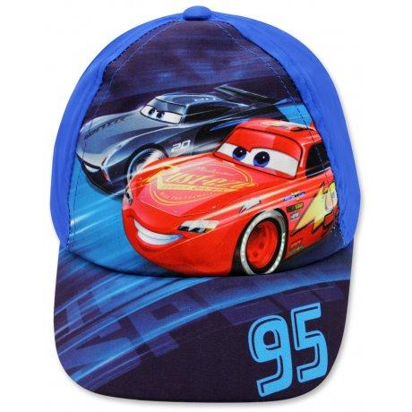 Kšiltovka Auta - Blesk McQueen 95 - modrá