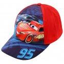 Kšiltovka Auta - Blesk McQueen 95 - červená
