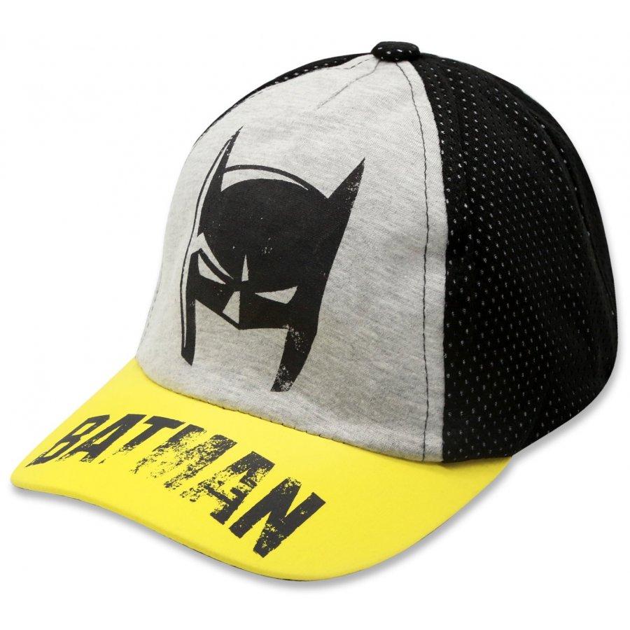 Kšiltovka Batman - žlutá