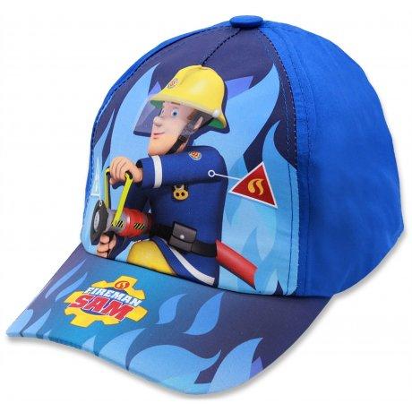 Chlapecká kšiltovka Požárník Sam - sv. modrá