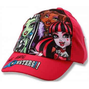 Dívčí kšiltovka Monsters High - červená