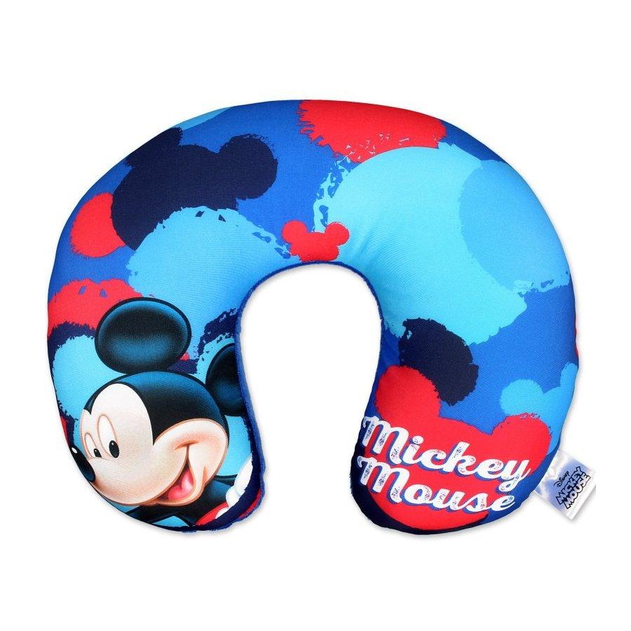 Setino · Anatomický cestovní polštář okolo krku Mickey Mouse - Disney - 31 x 26 x 8 cm