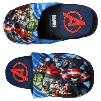 Chlapecké pantofle Avengers - tmavé