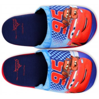Chlapecké pantofle Auta - Blesk McQueen - tmavé
