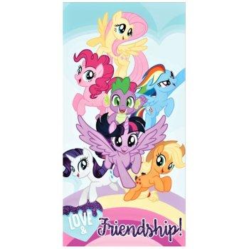 Plážová osuška My Little Pony - Love & Friendship!