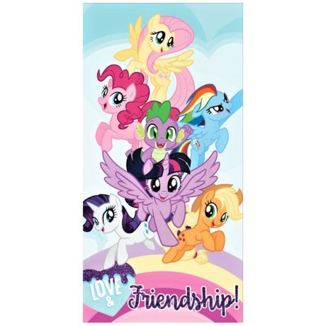 Plážová osuška My Little Pony - Love & Friendship!