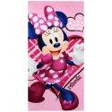 """Plážová osuška Minnie Mouse - Disney - motiv """"srdce"""""""