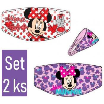 Čelenka do vlasů Minnie Mouse - Disney - set 2 ks