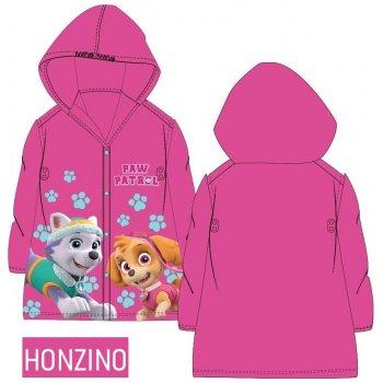 Dětská pláštěnka Tlapková patrola - růžová