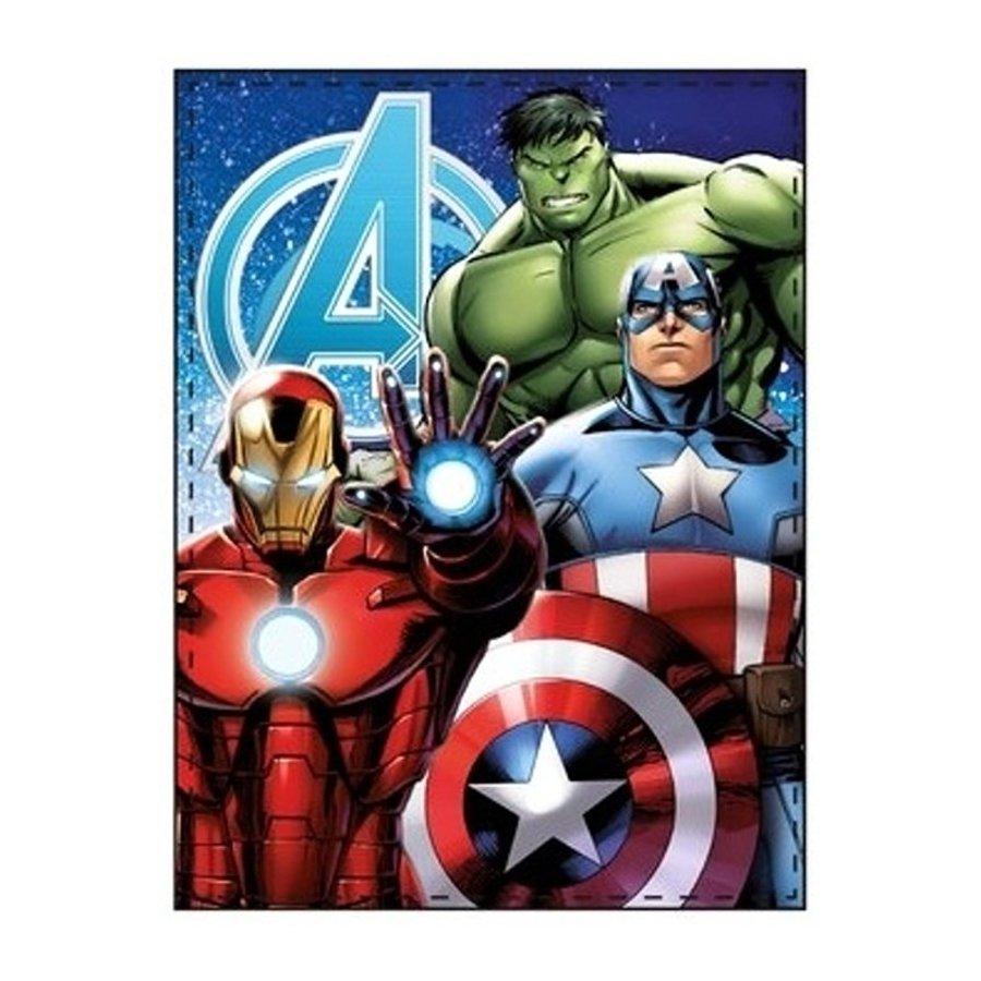 Fleecová deka Avengers - Iron Man, Captain America a Thor