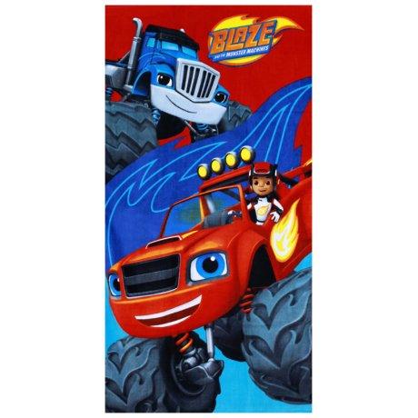 Plážová osuška monster truck Plamínek - Blaze