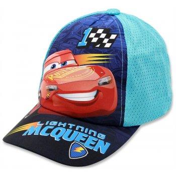 Chlapecká kšiltovka Cars - Blesk McQueen - tyrkysová