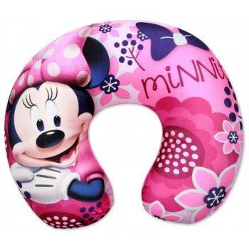 Cestovní polštář Minnie Mouse - růžový