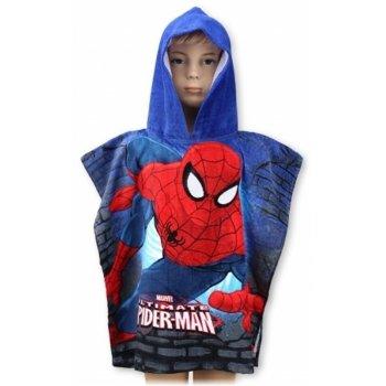 Pončo - osuška s kapucí Spiderman - MARVEL