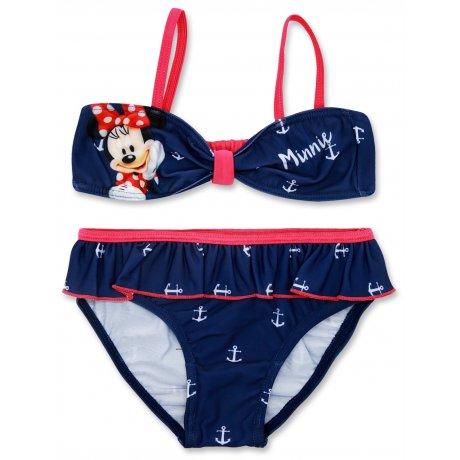 635787fd9c Dívčí dvoudílné plavky Minnie Mouse - modré