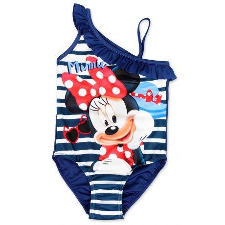Dívčí jednodílné plavky Minnie Mouse - modré