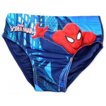 Chlapecké slipové plavky Spiderman - modré