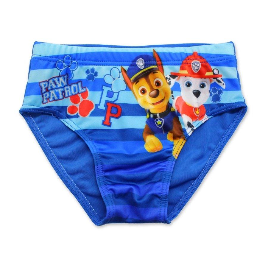 Chlapecké slipové plavky Tlapková patrola - sv. modré