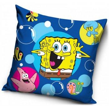Povlak na polštář SpongeBob - modrý