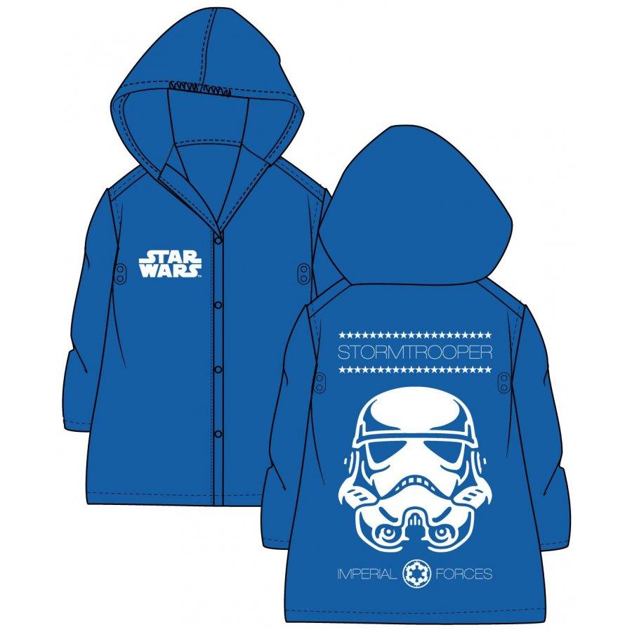 Dětská pláštěnka Star Wars - Stormtrooper - sv. modrá
