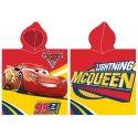 Pončo - osuška s kapucí Auta - Blesk McQueen 95