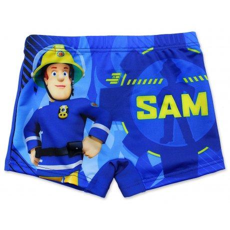 Chlapecké plavky boxerky Požárník Sam - sv. modré